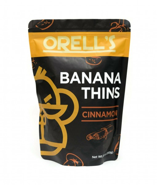 Orells Cinnamon Banana Thins Pouch