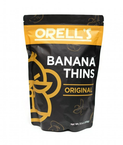 Orells Original Banana Thins Pouch