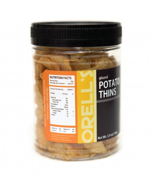 Orells Potato Thins